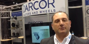 ProMat 2015 - CASTERNEWS Talks Ergonomics with Darcor Ergonomic Mobility Expert, Lui Dilauro