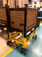 Manufacturing Plant Experiences Up to 62% Decrease in Push/Pull Forces By Implementing Ergonomic Casters