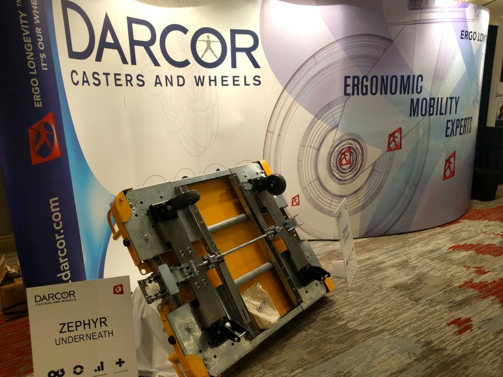 AEC 2018 Darcor booth proactive ergonomics