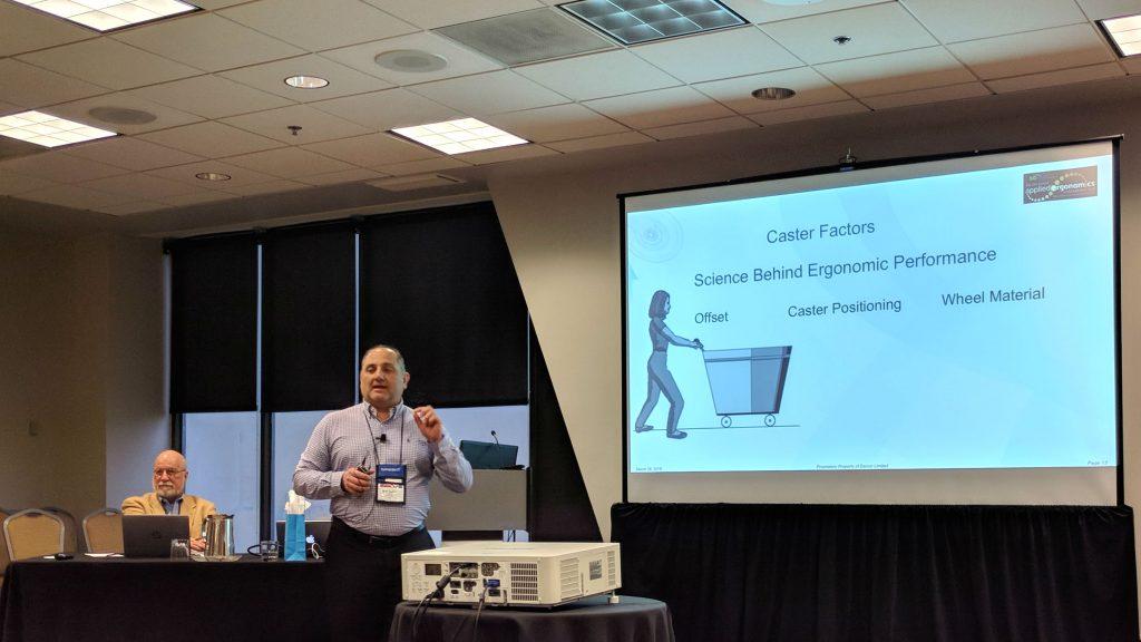 AEC 2018 Darcor proactive ergonomics caster selection session