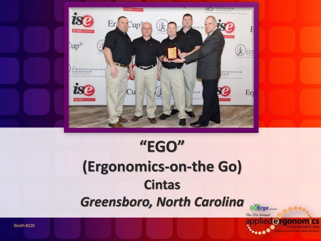 AEC 2018 Ergonomics on the Go Cintas proactive ergonomics